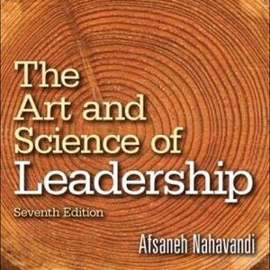 The Art and Science of Leadership printed book